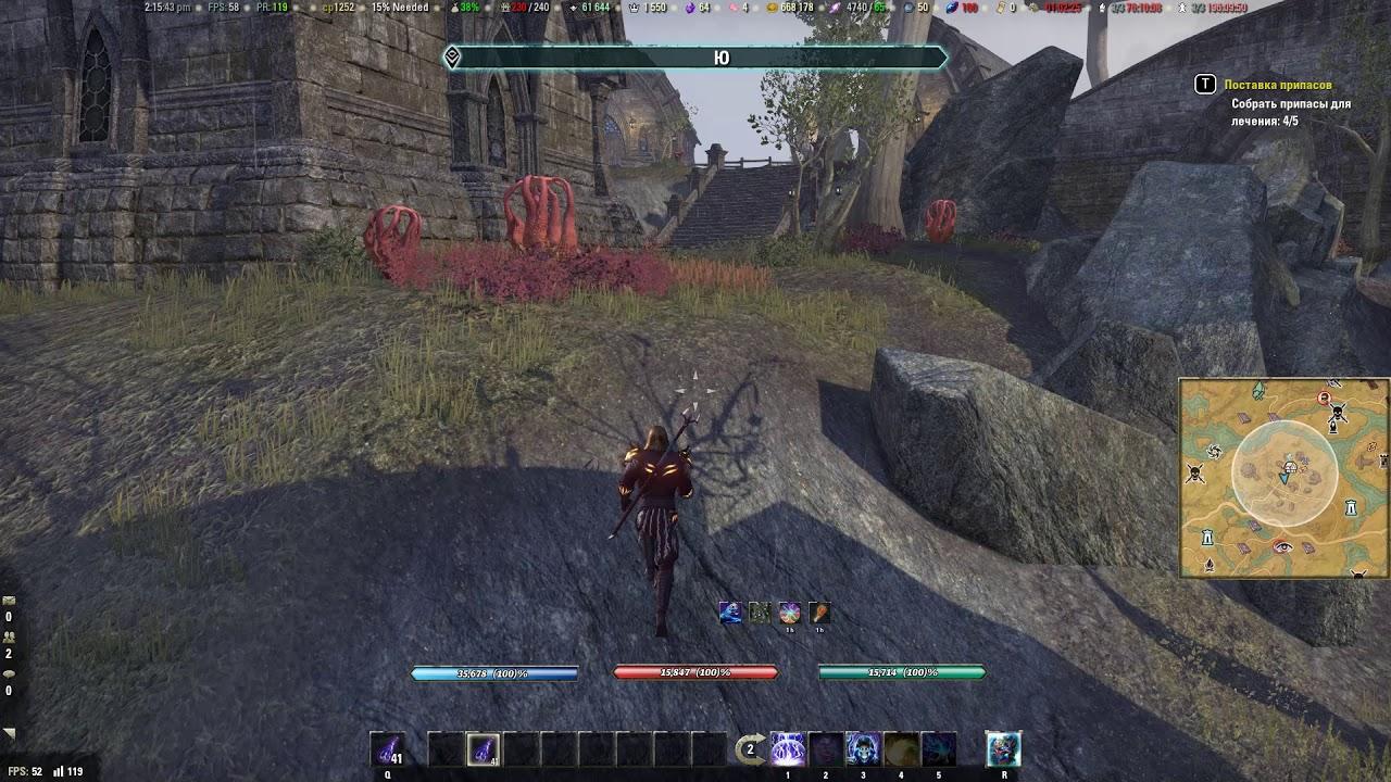 Elder Scrolls  Online - Поставка припасов