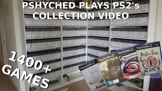 Enormous 2017 PAL Playstation 2 Collection // 1400+ Games!!