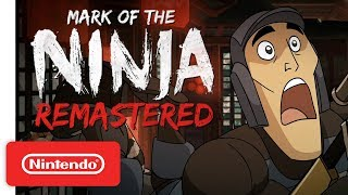 Mark of the Ninja: Remastered - Release Date Trailer - Nintendo Switch