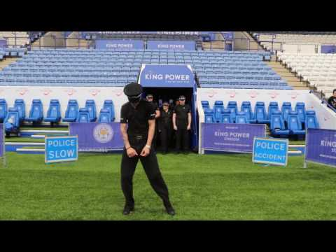 Leicestershire Police Running Man Challenge