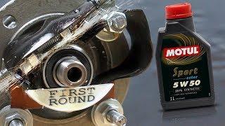 Motul Sport 5W50 Jak skutecznie olej chroni silnik?