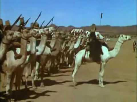 Sudan 1895, British camp: the Sirdar, General Kitchener, inspects the troops