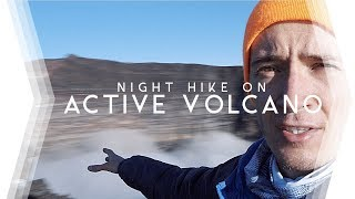 RÉUNION ISLAND  |  We hiked an ACTIVE VOLCANO at NIGHT