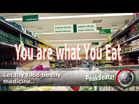 You are what you eat ! Cancer, Obesity & Diabetes and more!