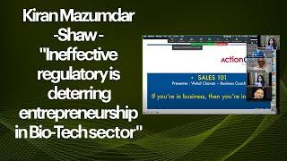 Kiran Mazumdar-Shaw -Ineffective
