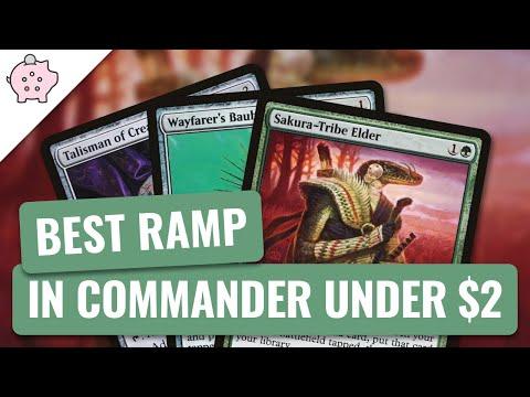 Best Ramp in Commander Under $2 | EDH | Budget Ramp | Magic the Gathering