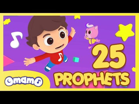 25 Prophets 25 Rasul  OmamO Songs for Children