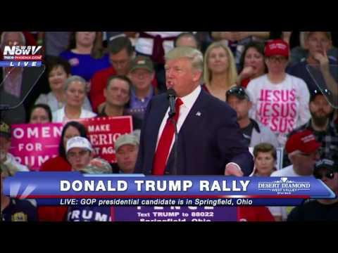 FULL SPEECH: Donald Trump Rally Springfield, Ohio 10/27/16