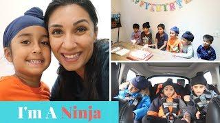 Top Secret Ninjas | FAMILY VLOG | MOM BOSS OF 3