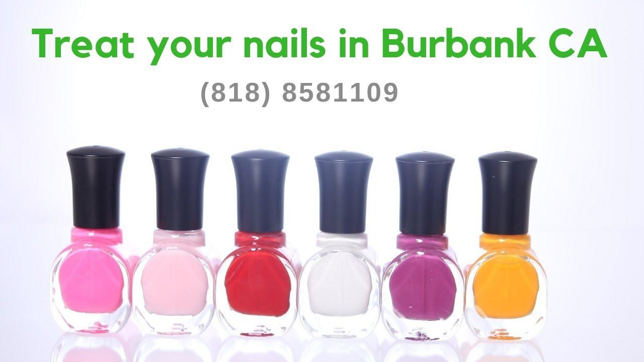 Nail Salon In Burbank Mall 818 8581109 Youtube