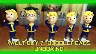 fallout 4 vault boy 7 inch bobbleheads unboxing