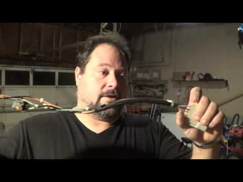 Scrapping a Headlight Wire Harness for wire copper and silver