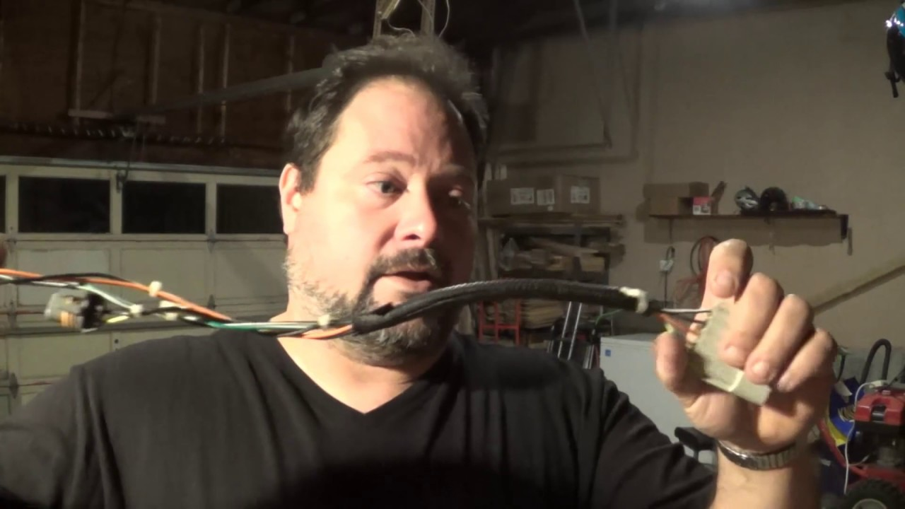 maxresdefault scrapping a headlight wire harness for wire copper and silver copper wire hardness at eliteediting.co