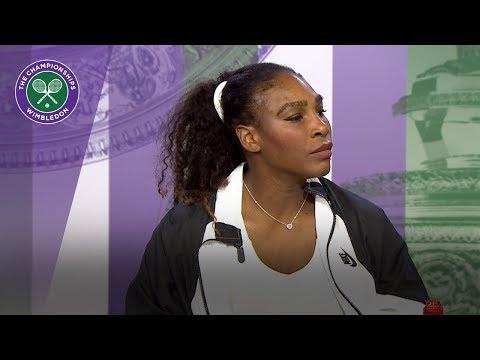 Serena Williams sees room for improvement   Wimbledon 2018