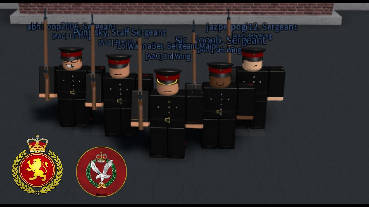Roblox Aac Inspection Marcuses British Army Youtube