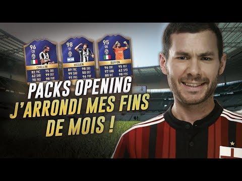 FIFA 17 - PACK OPENING TOTS SERIE A - J'ARRONDI MES FINS DE MOIS !