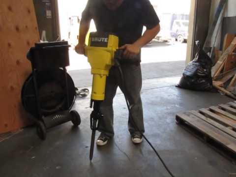 sold bosch brute electric concrete jackhammer breaker demolition jack hammer