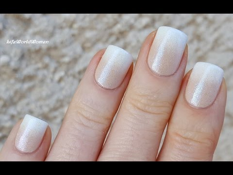 Ombre Frenchmanicure
