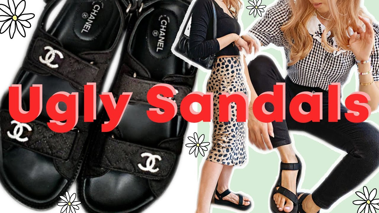 Huge Trend Alert Ugly Dad Sandals How To Style Where To Buy The Best Youtube