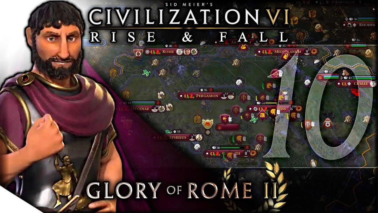The Dawn Before the Dark | Civilization VI: Rise & Fall — Glory of Rome II 10 | Terra Emperor