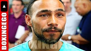 KEITH THURMAN FINALLY EXPLAINS VACATING HIS BELTS BEFORE MILLIONS OF FANS ON SOCIAL