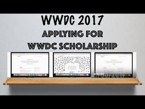 Applying for WWDC 2017 Scholarship
