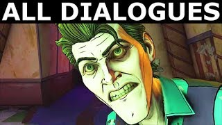 John & Bruce In The Fun House - All Dialogues - Good Path - BATMAN The Enemy Within Episode 4