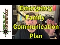 Urban Survival Tip: Family Communication Plan