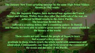 """WWII and Nichiren Shoshu High Priest Nikkyo and the  """"Imperial Principle"""""""