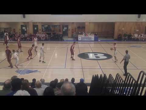 Vancouver Islands Basketball Oak Bay versus Cowichan