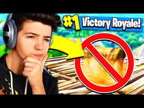 NO CHEST CHALLENGE in Fortnite: Battle Royale