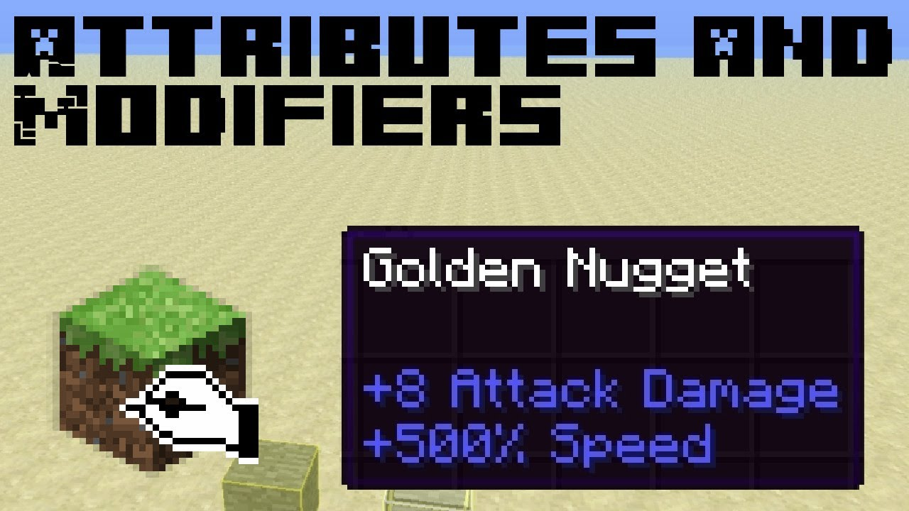 [UPDATED] Attributes and Modifiers MCEdit Filter - Minecraft 1 6