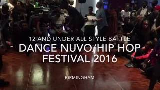 12 & Under All Style Battle 2016. Dance Nuvo/Hip Hop Festival Bgirl Terra Final