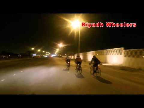 riyadh wheelers Night Ride 1