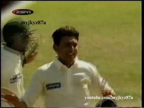 Pakistan Tour to India 99 : Saqlain Mushtaq All 20 Wickets from 2 Tests !!