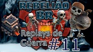 Clash of Clans - REBELIÃO nas Guerras #11- GoVaWiWiPeLoon ! - Cv9 / Th9