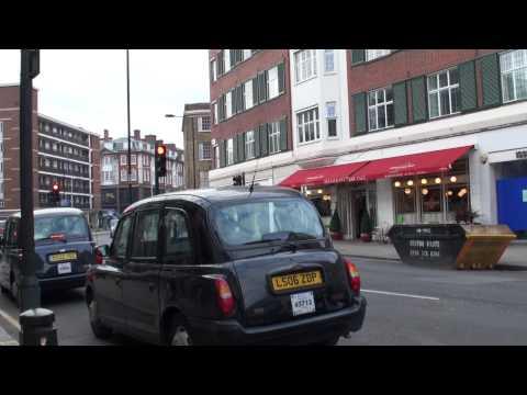 2009 Euro Travel #67 - UK #26 - Walking Around Upmarket Residential Area In London