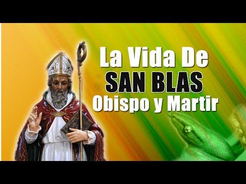La Vida De San Blas Obispo y Martir