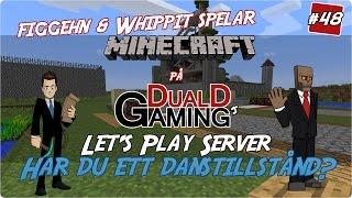Minecraft | DualDGamings LP Realm #48 - Har du ett danstillstånd?
