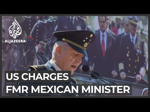 US charges former Mexican minister with drug trafficking