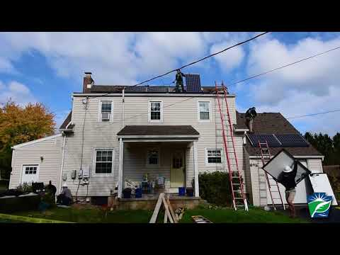 Time lapse: Solar Installation