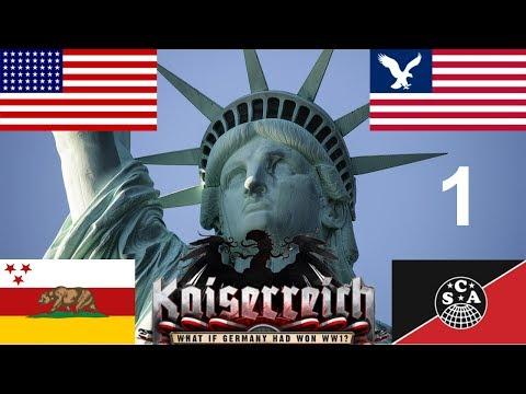 Hearts of Iron IV - Kaiserreich - The American Civil War - 1