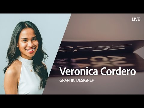 Live Graphic Design with Veronica Cordero - Day 1/3