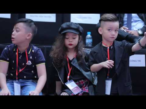DÀN MẪU NHÍ ĐỖ BỘ VIETNAM INTERNATIONAL FASHION WEEK FALL WINTER 2016