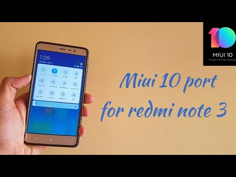 Miui 10 hydrogen port for redmi note 3 || Volte || android 7 0 nougat n more