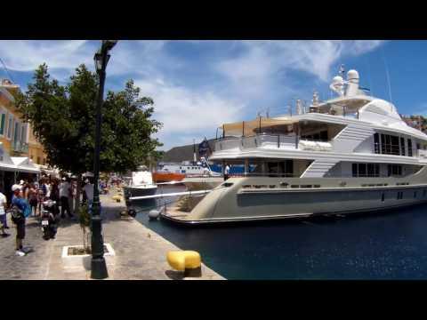 Symi town, Symi island, Greece