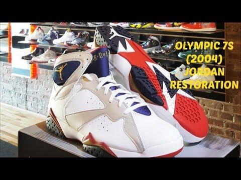 3a3773873a60c1 Olympic 7s (2004) Jordan Restoration - YouTube