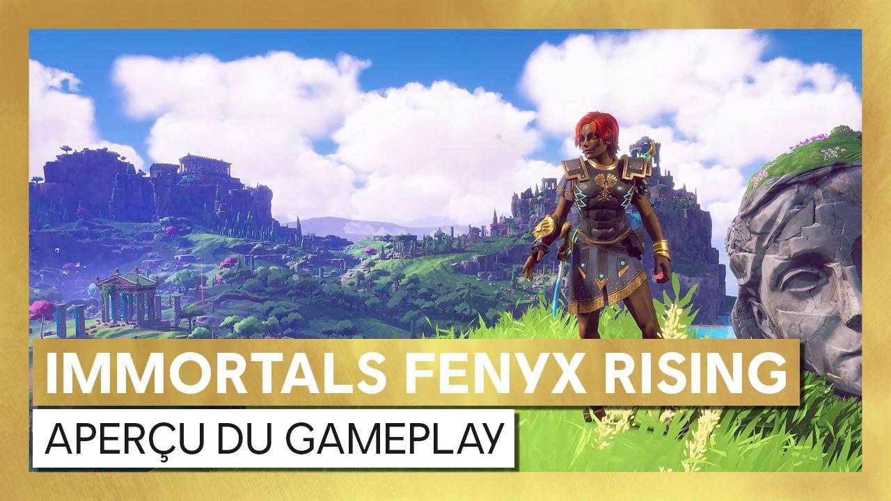Immortals Fenyx Rising : Aperçu du gameplayVOSTFR