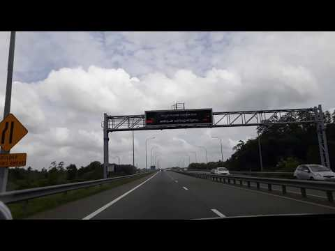 Southern Expressway from Colombo to Galle, Sri Lanka
