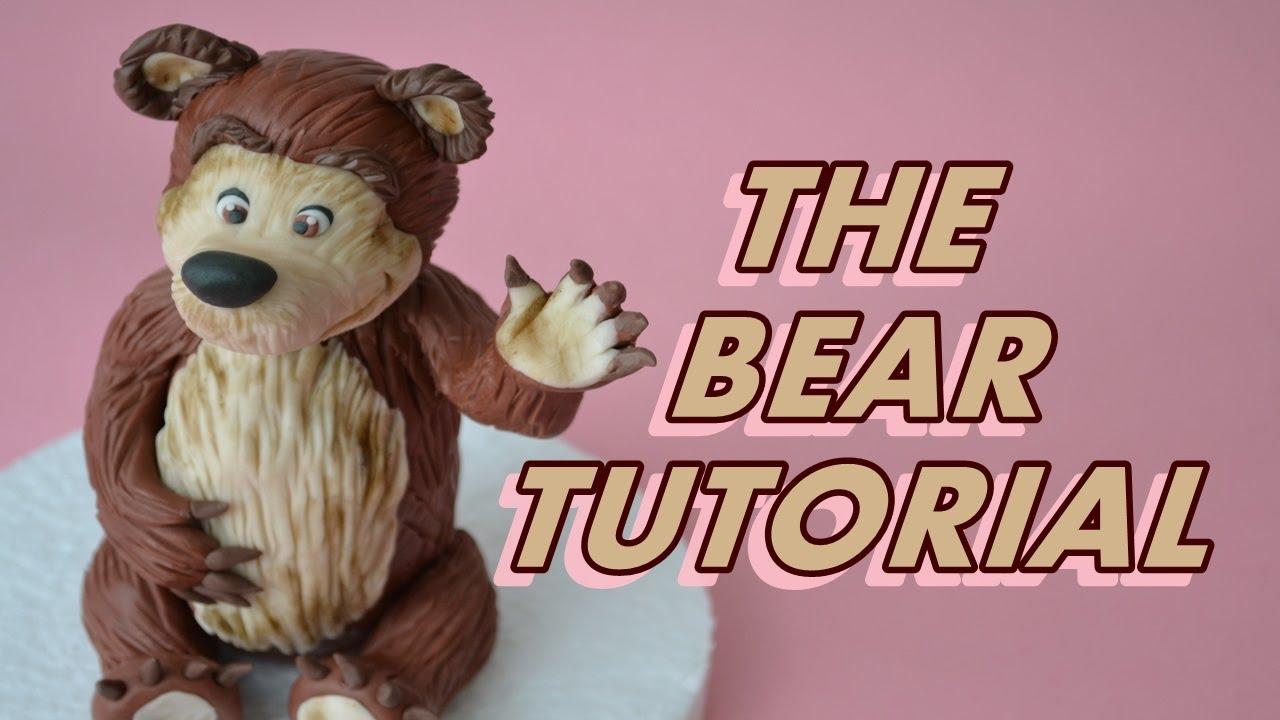 How to make a cartoon Masha and the Bear